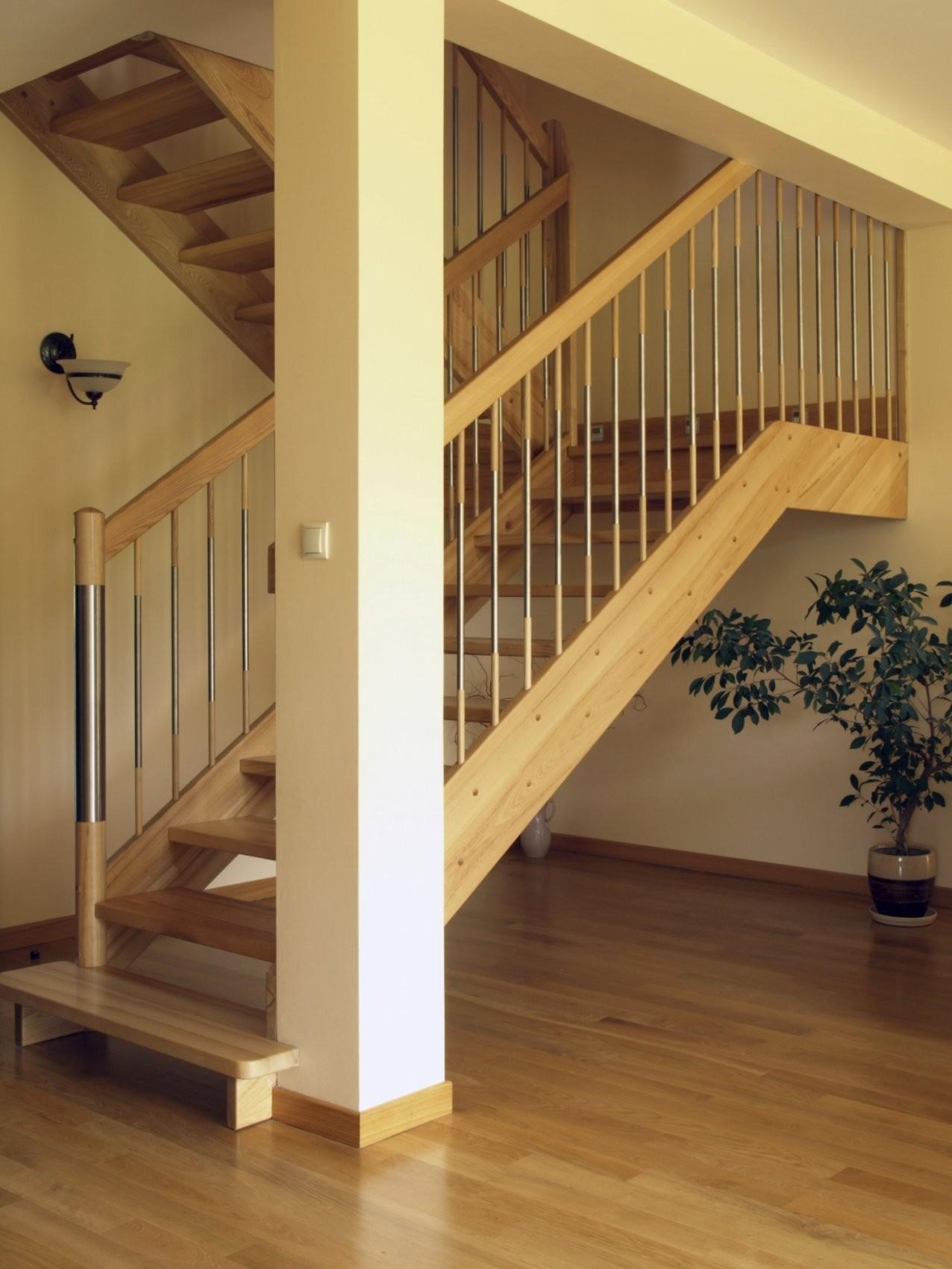 Stairs Without Risers Set Staircase