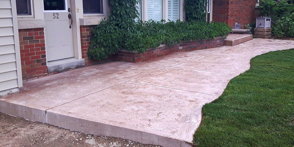 Stamped Concrete Patios Sidewalks Driveways Lester
