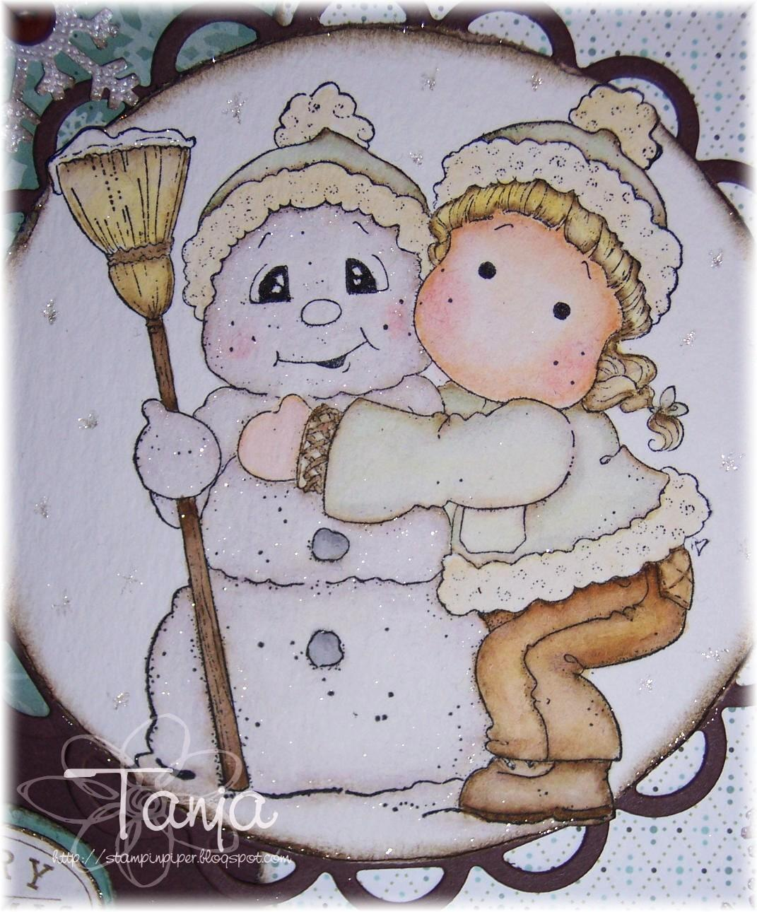 Stampin Pipers Magnolias Merry Christmas Dear Friend