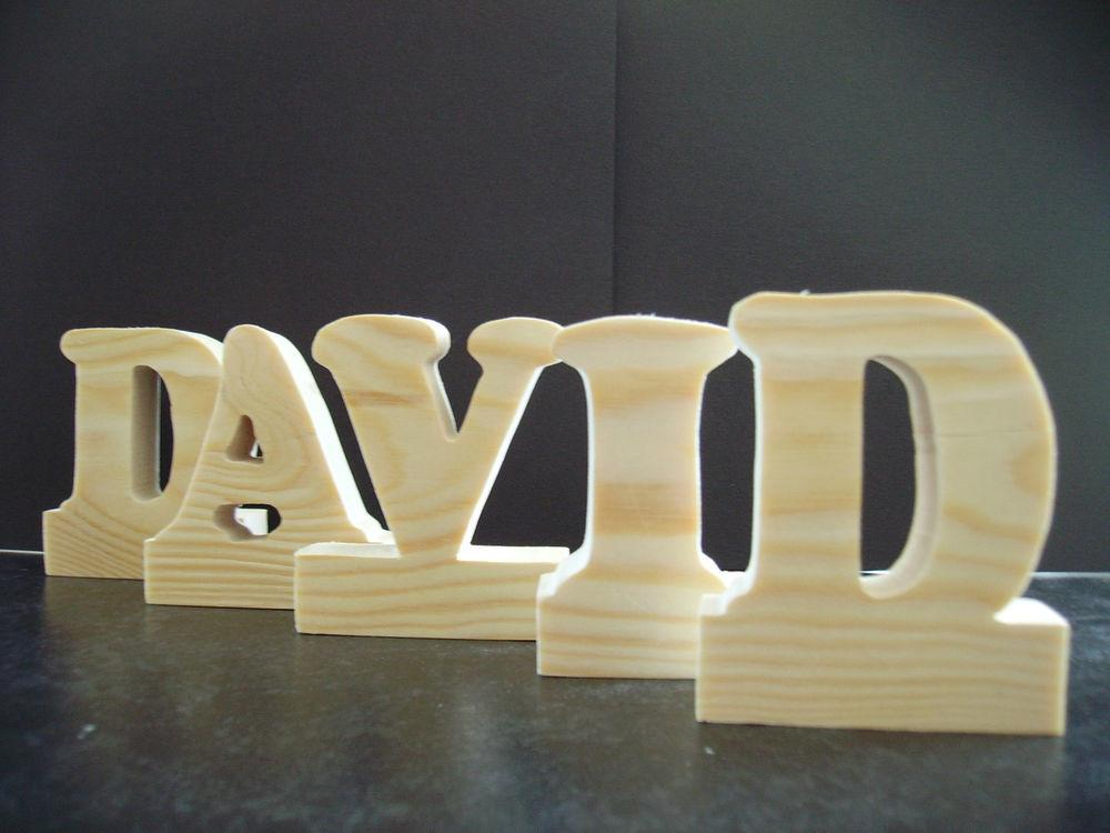Standing Large Wooden Letters Home Decor Kids