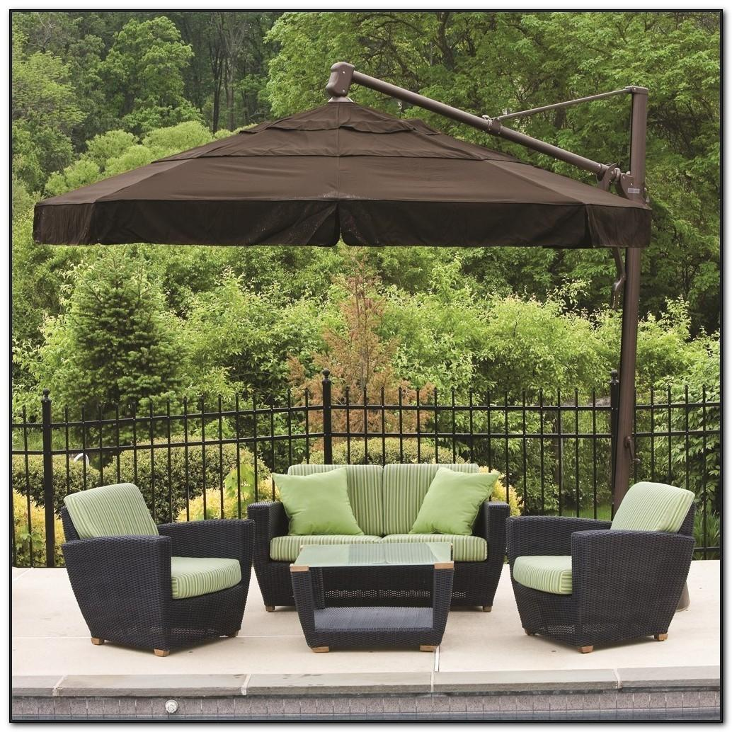 Standing Outdoor Umbrella Patios Home Decorating