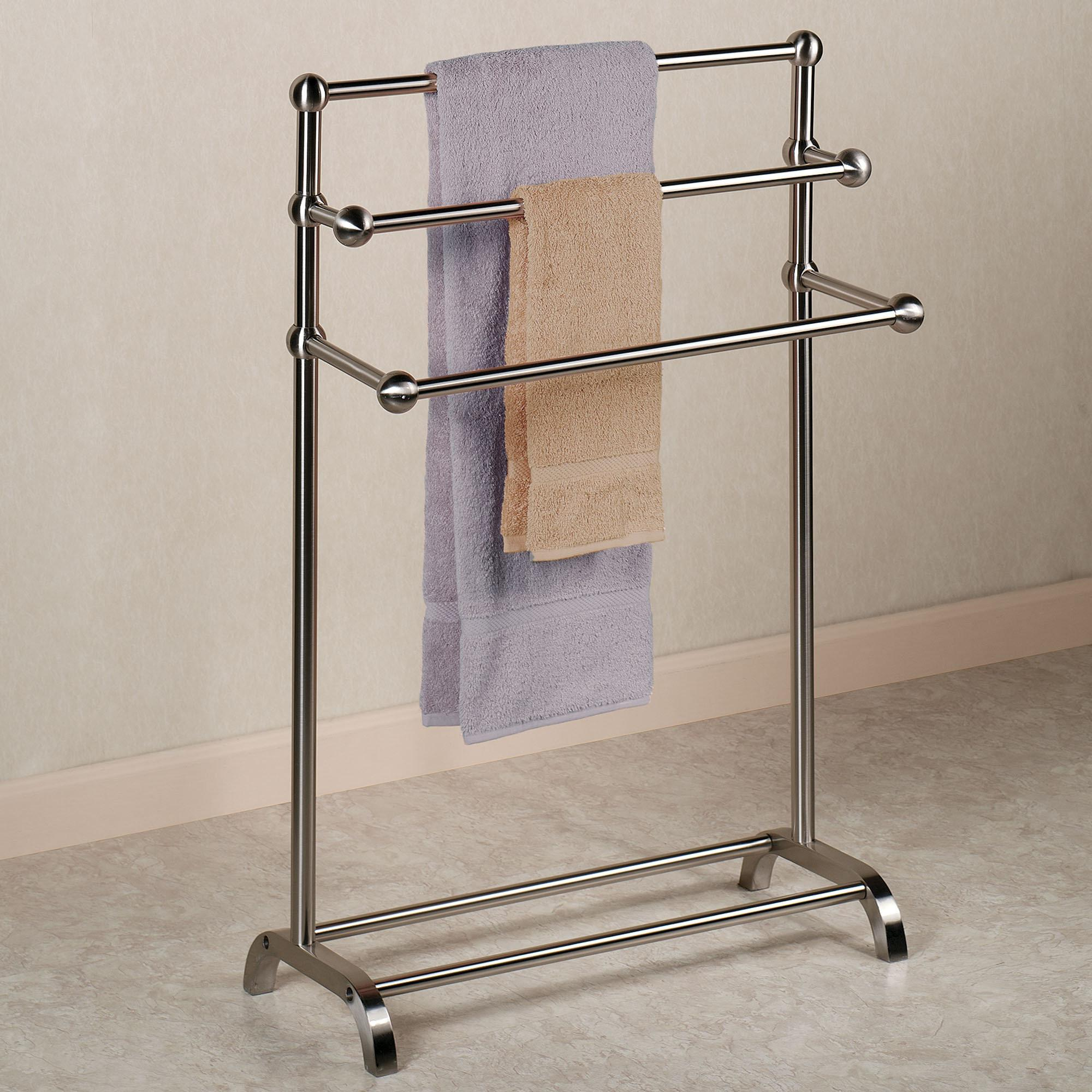 Standing Towel Rack Good Bad Idea Home