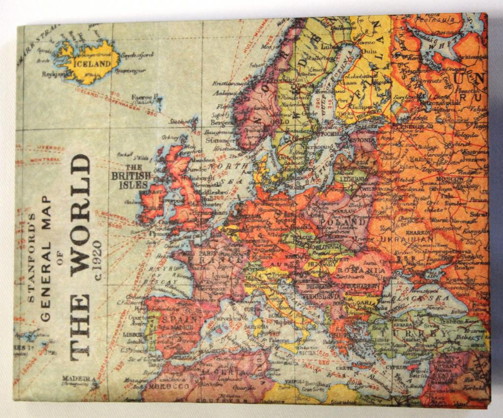 Stanfords Vintage Map Wallet Our Brand New Based