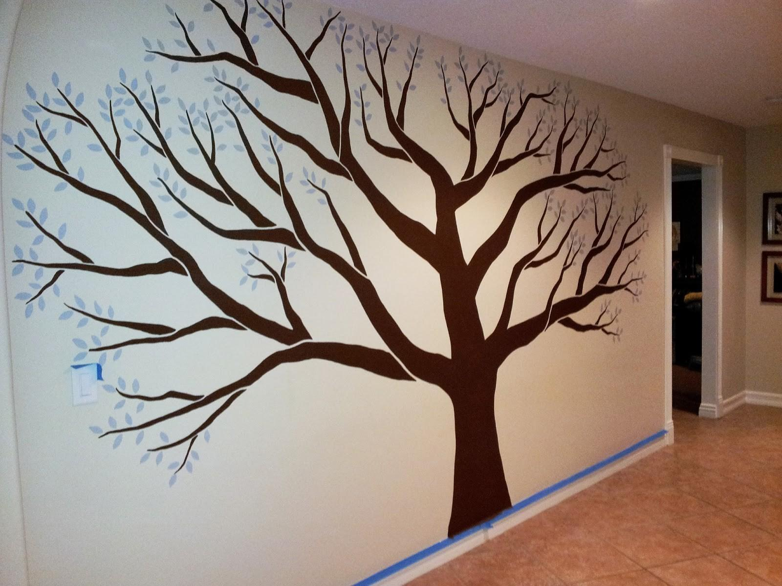 Star Murals Family Tree Mural Mudroom Corona