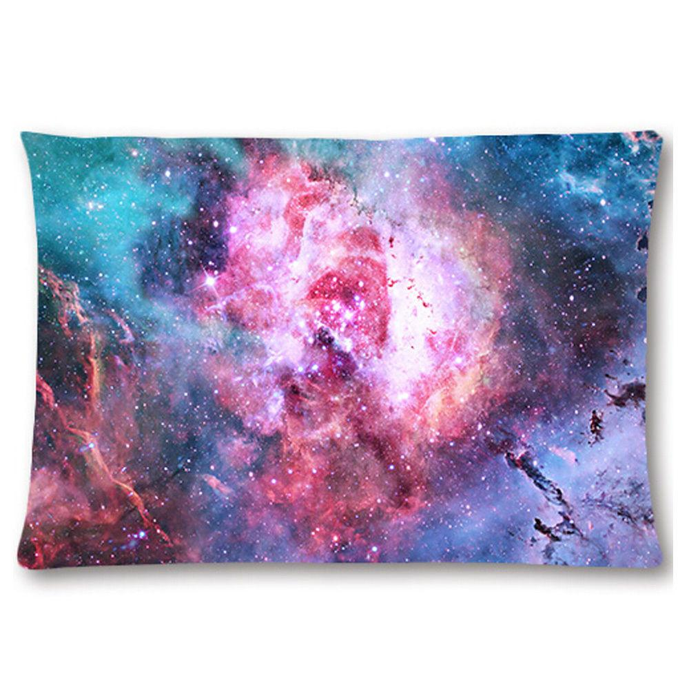 Starburst Cluster Nebula Galaxy Universe Pillow Case Outer