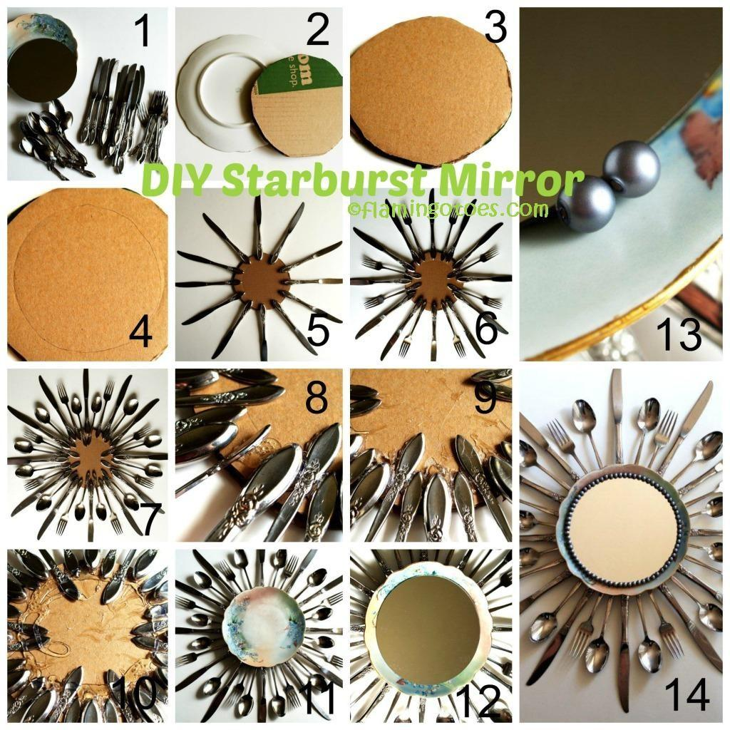 Starburst Mirror Diy Tutorial Home Tutorials