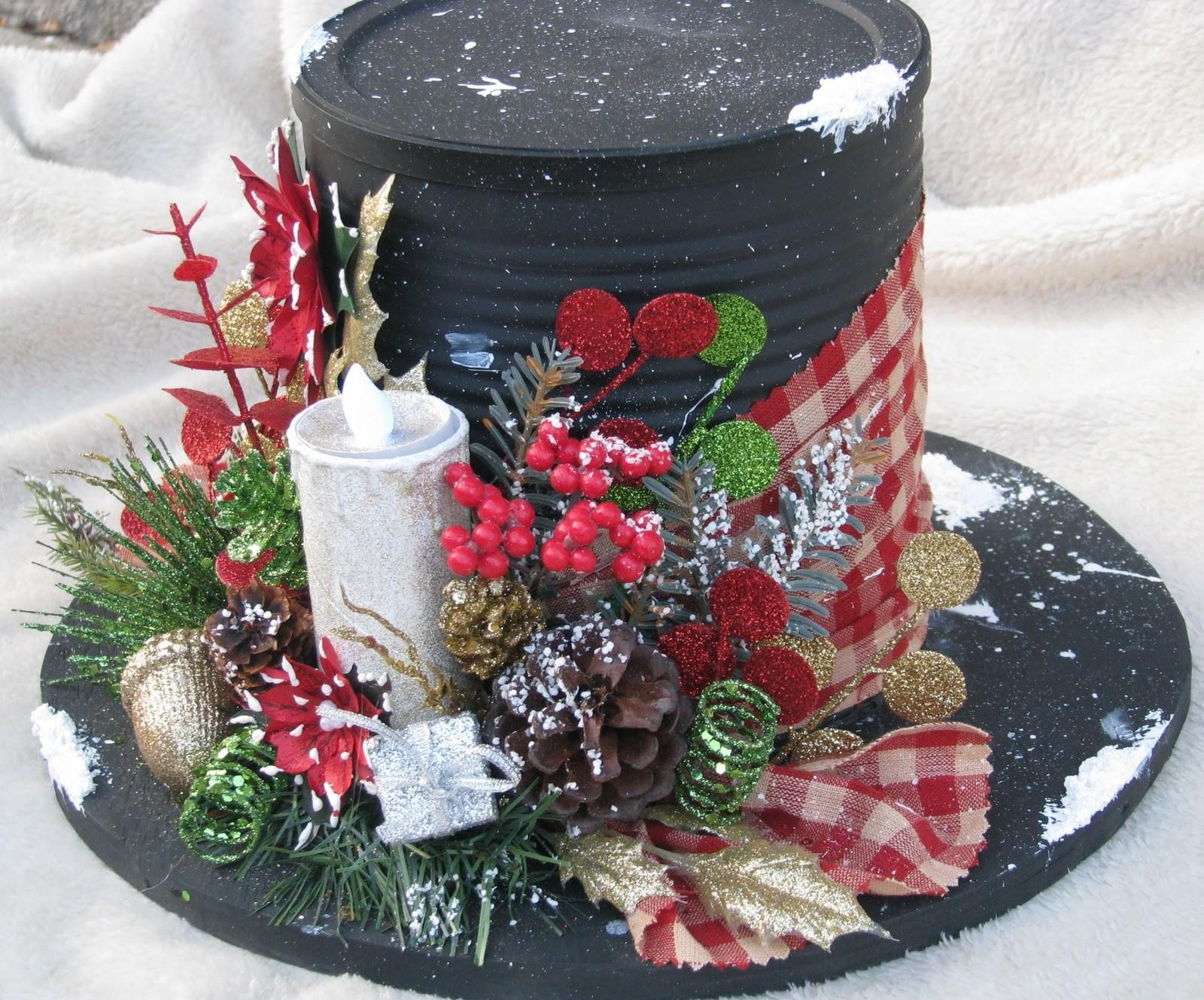Stars Sparkles Blooms Bling Snowman Hat Gifts