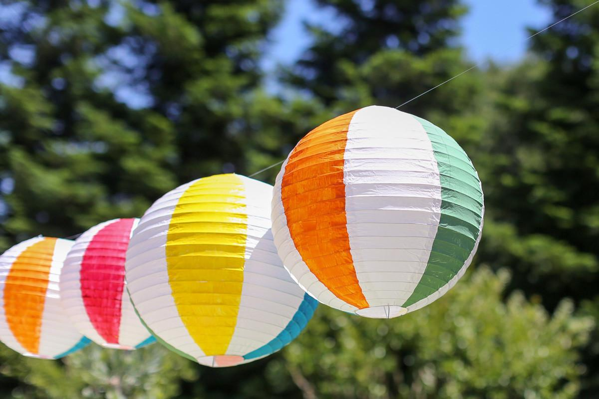 Start Summer Diy Beach Ball Paper Lanterns Evite