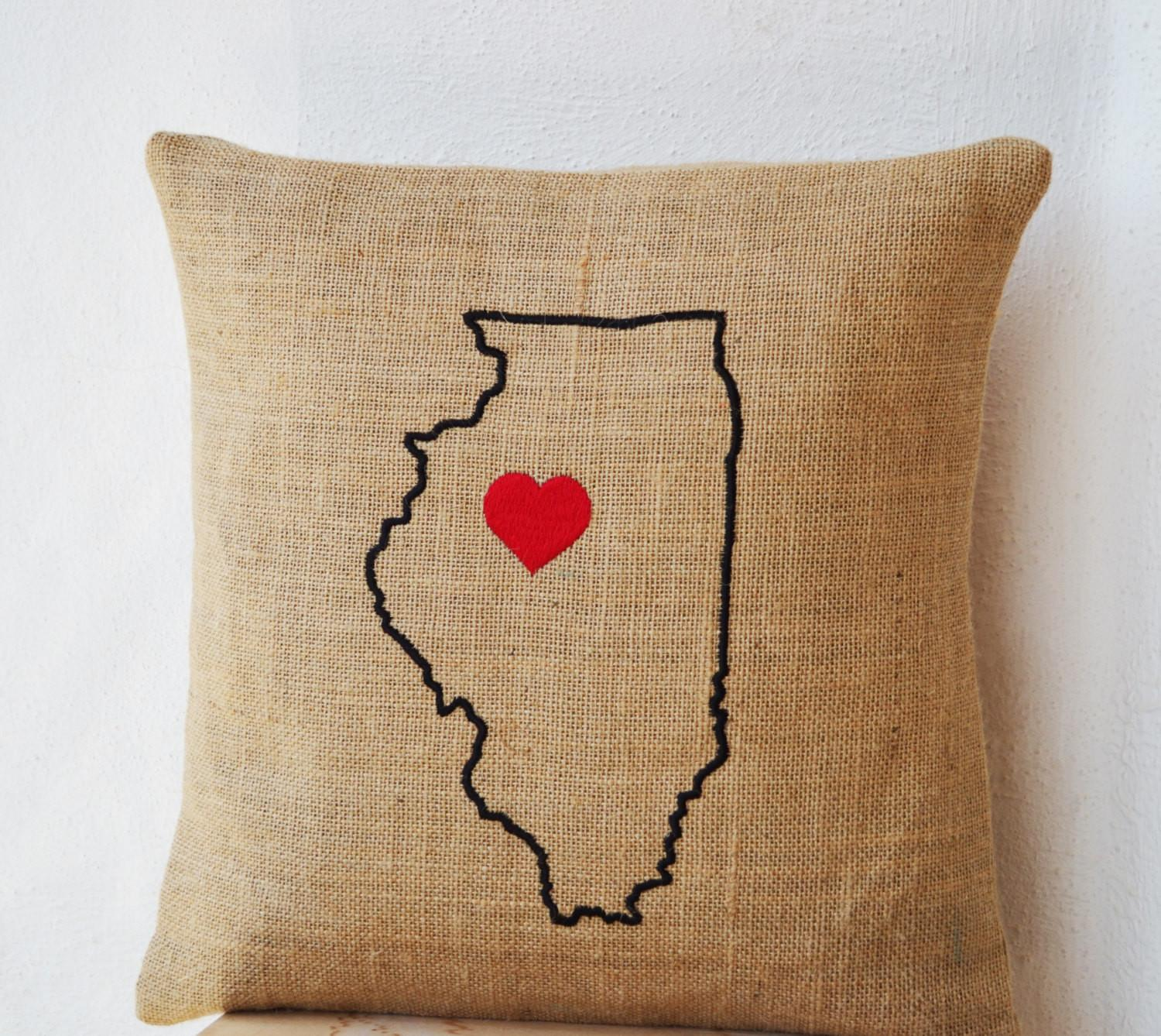 State Pillow Home