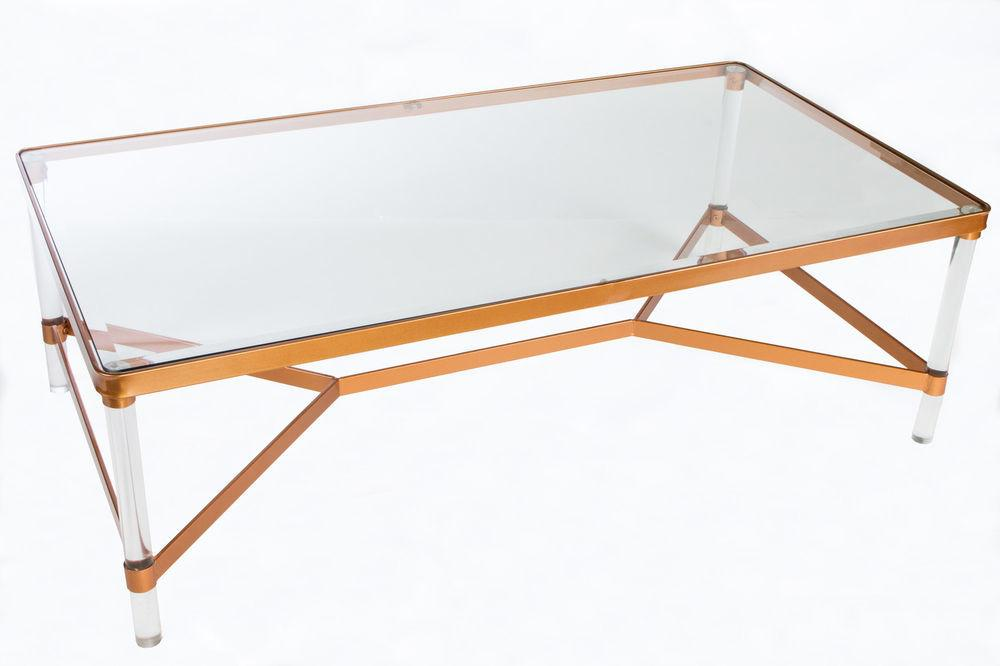 Statements Mireille Acrylic Coffee Table