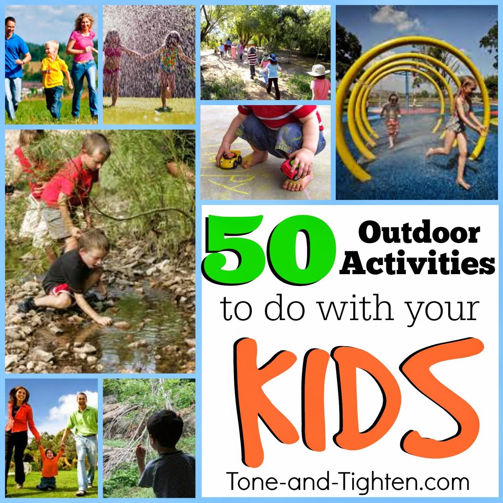 Stay Active Your Kids Summer Outdoor