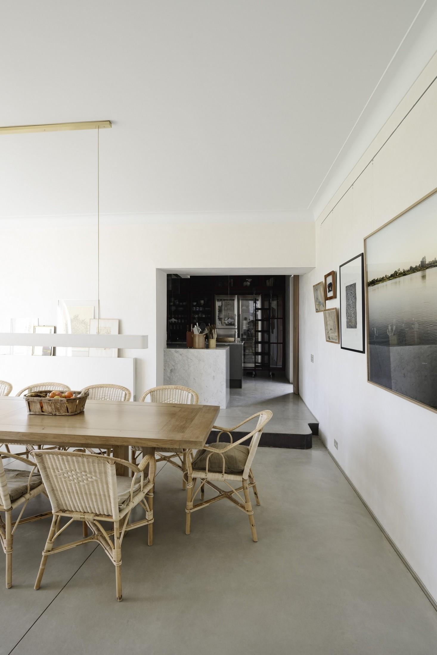 Steal Look Modern Farmhouse Dining Room France