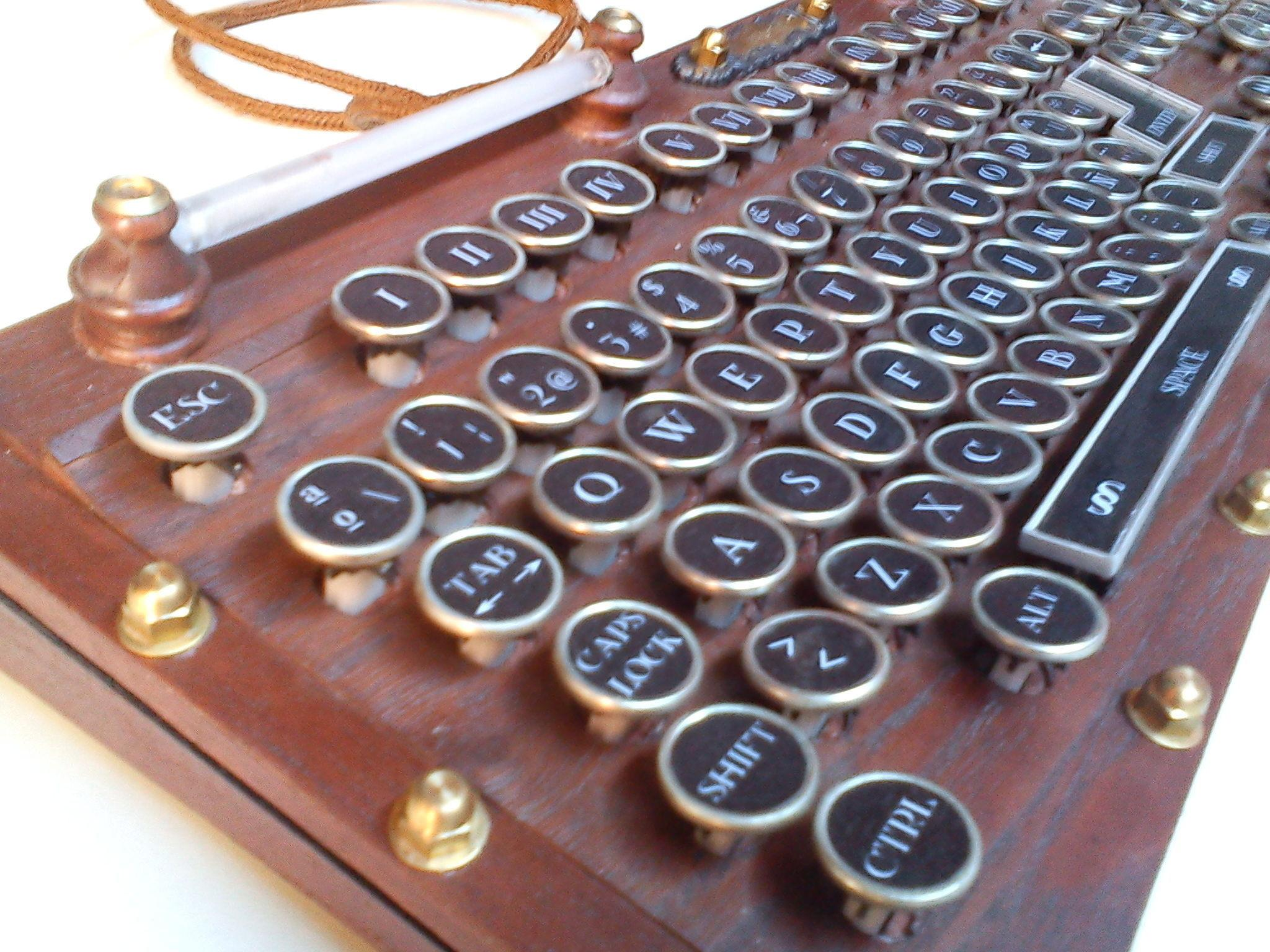 Steampunk Keyboard Version