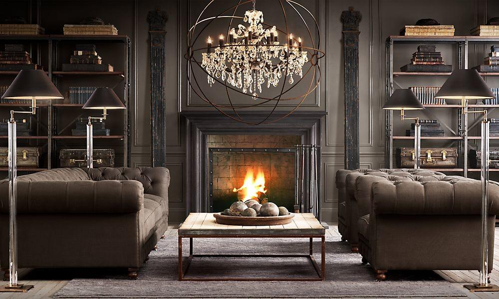 Steampunk Living Room Ideas