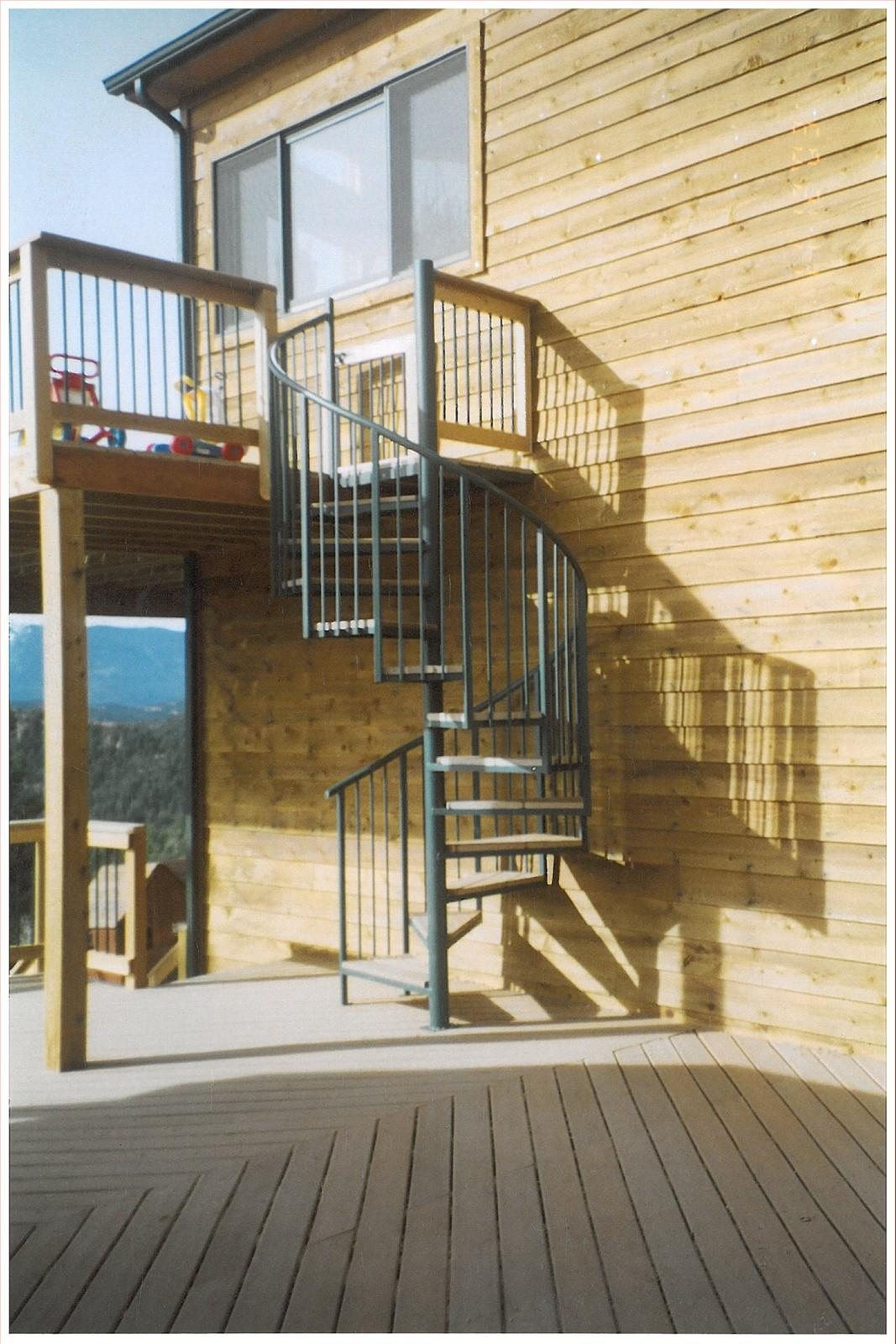Steel Spiral Staircase Metal Stairs