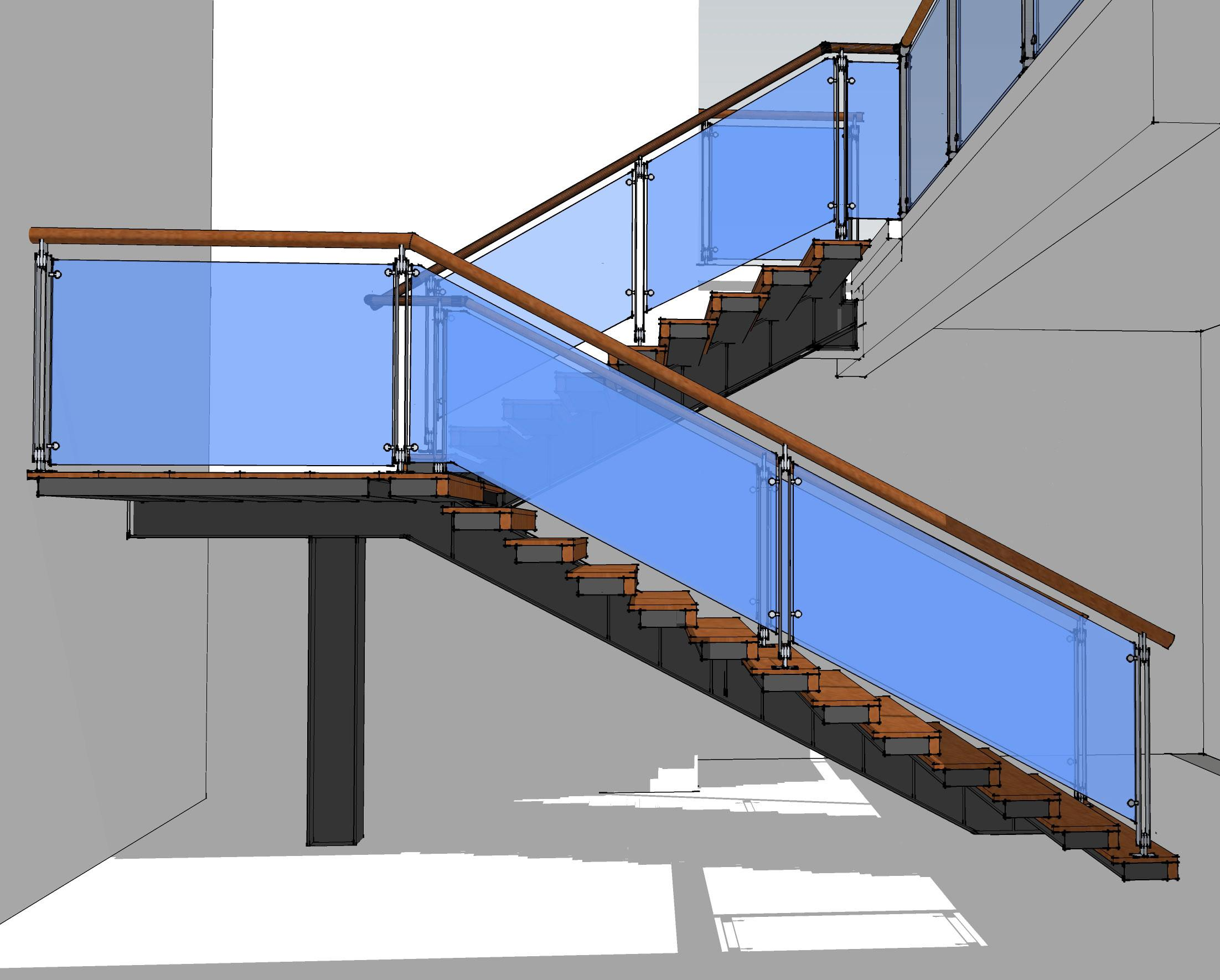 Steel Stair Eugene Mangubat Associates