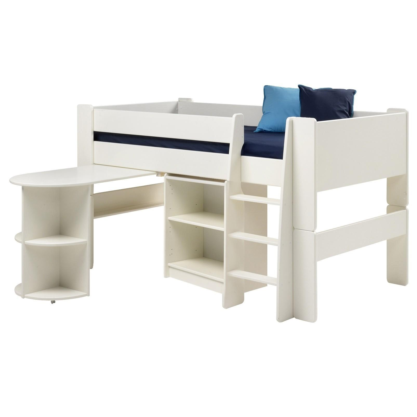 Steens Kids Low Bookcase White