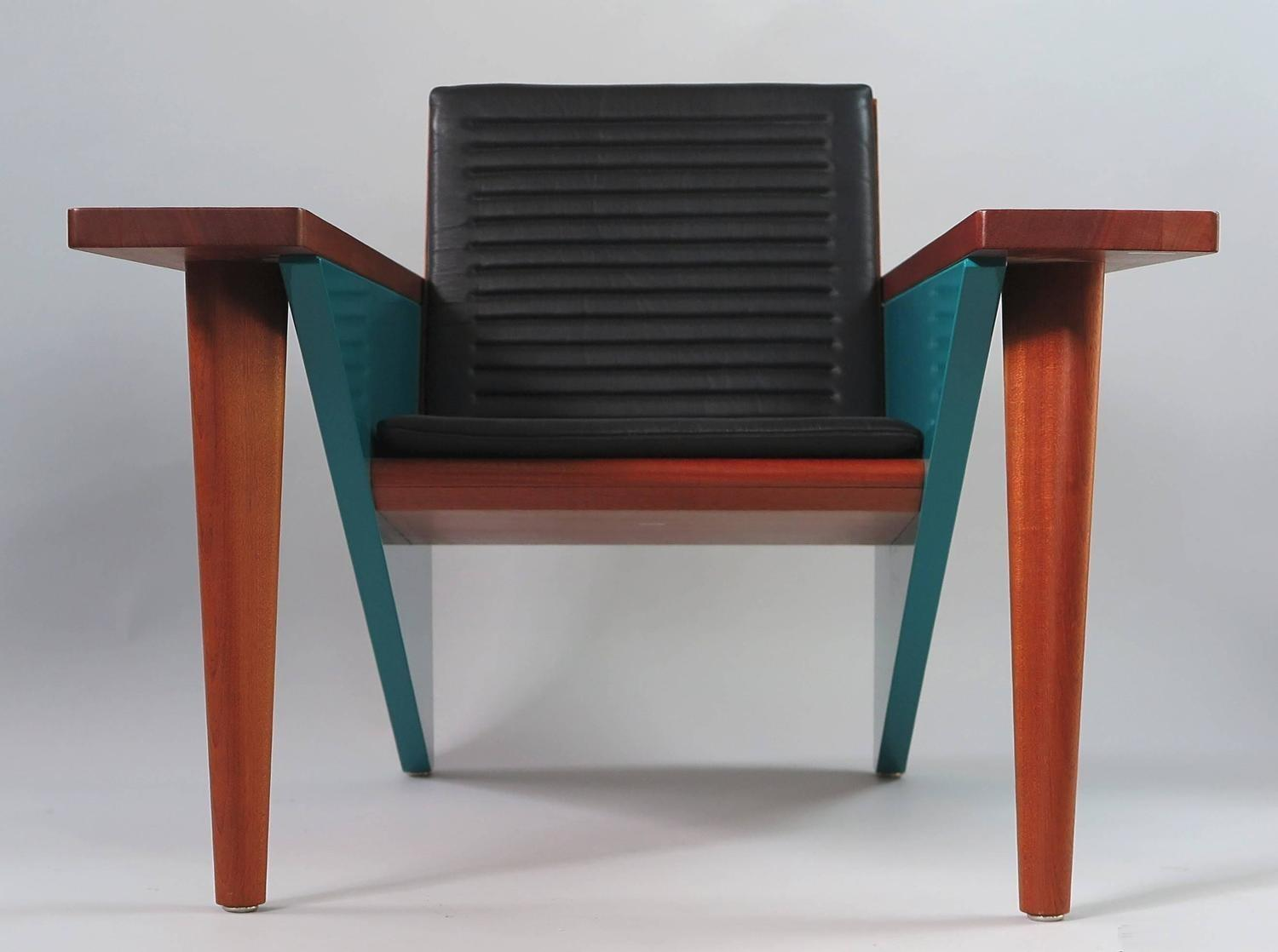 Stefan Zwicky Iconic Lounge Chair Switzerland 1980s