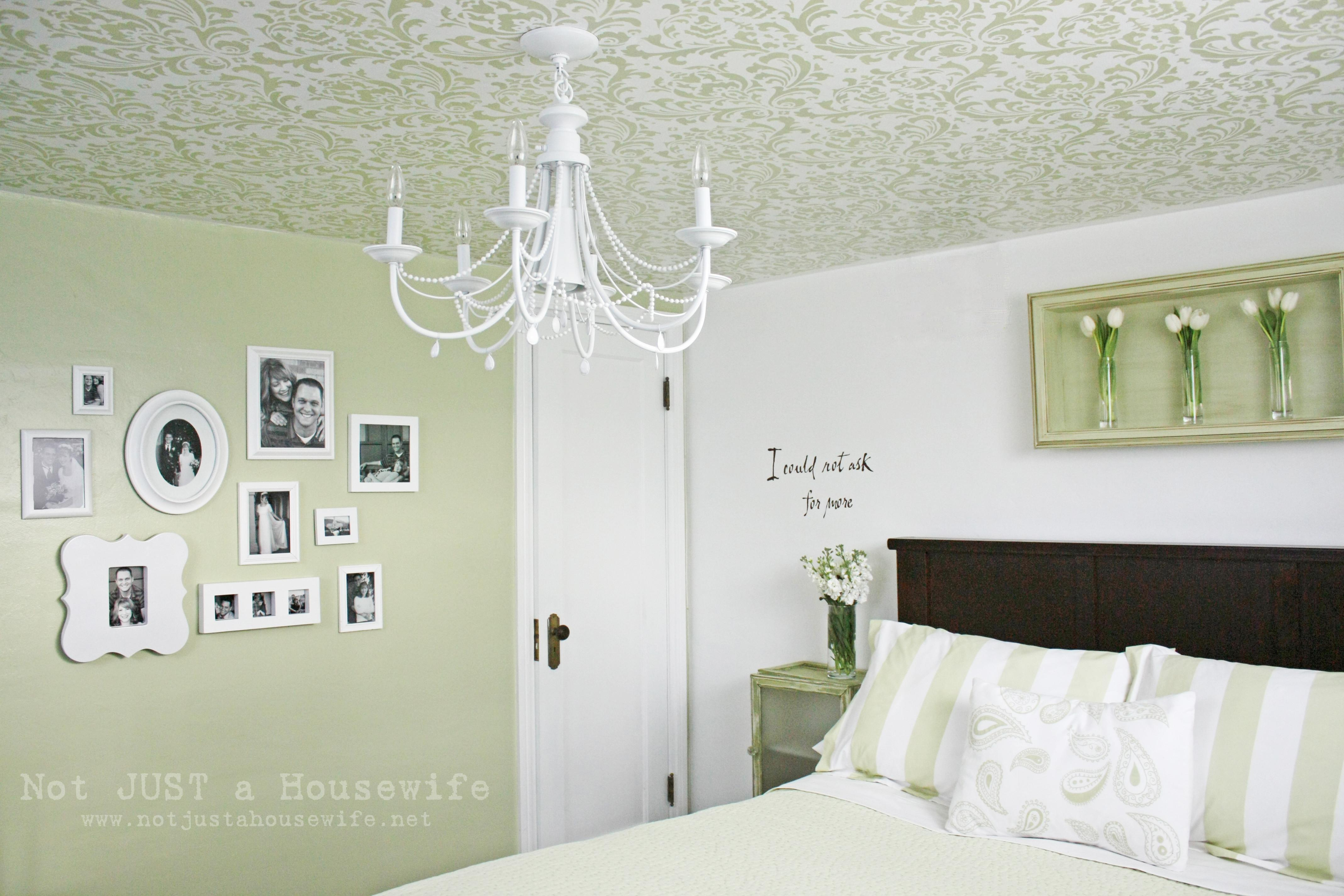 Stenciled Ceiling Stacy Risenmay