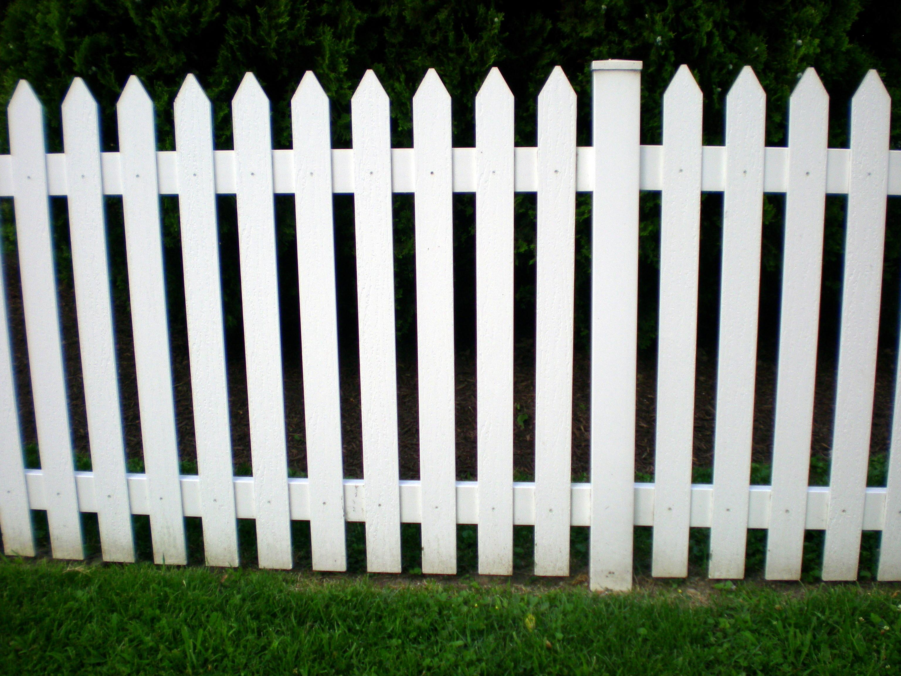 Steps Building Picket Fence Uneven Ground