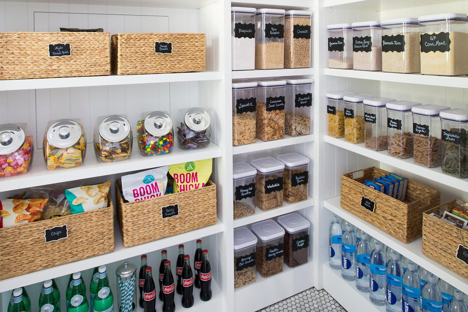 Steps Organized Pantry Neat Method