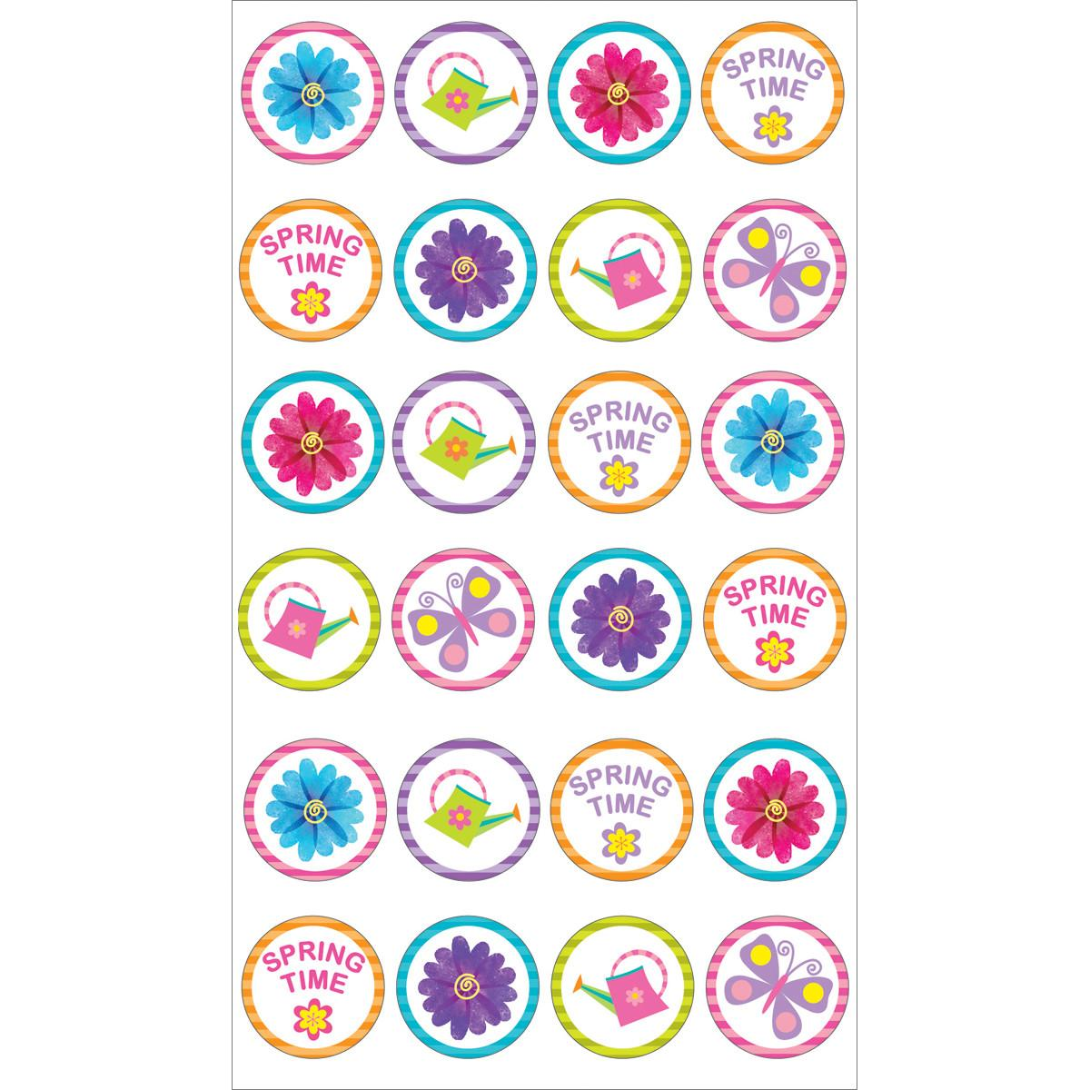 Sticko Seasonal Stickers Spring Time Repeat Ann