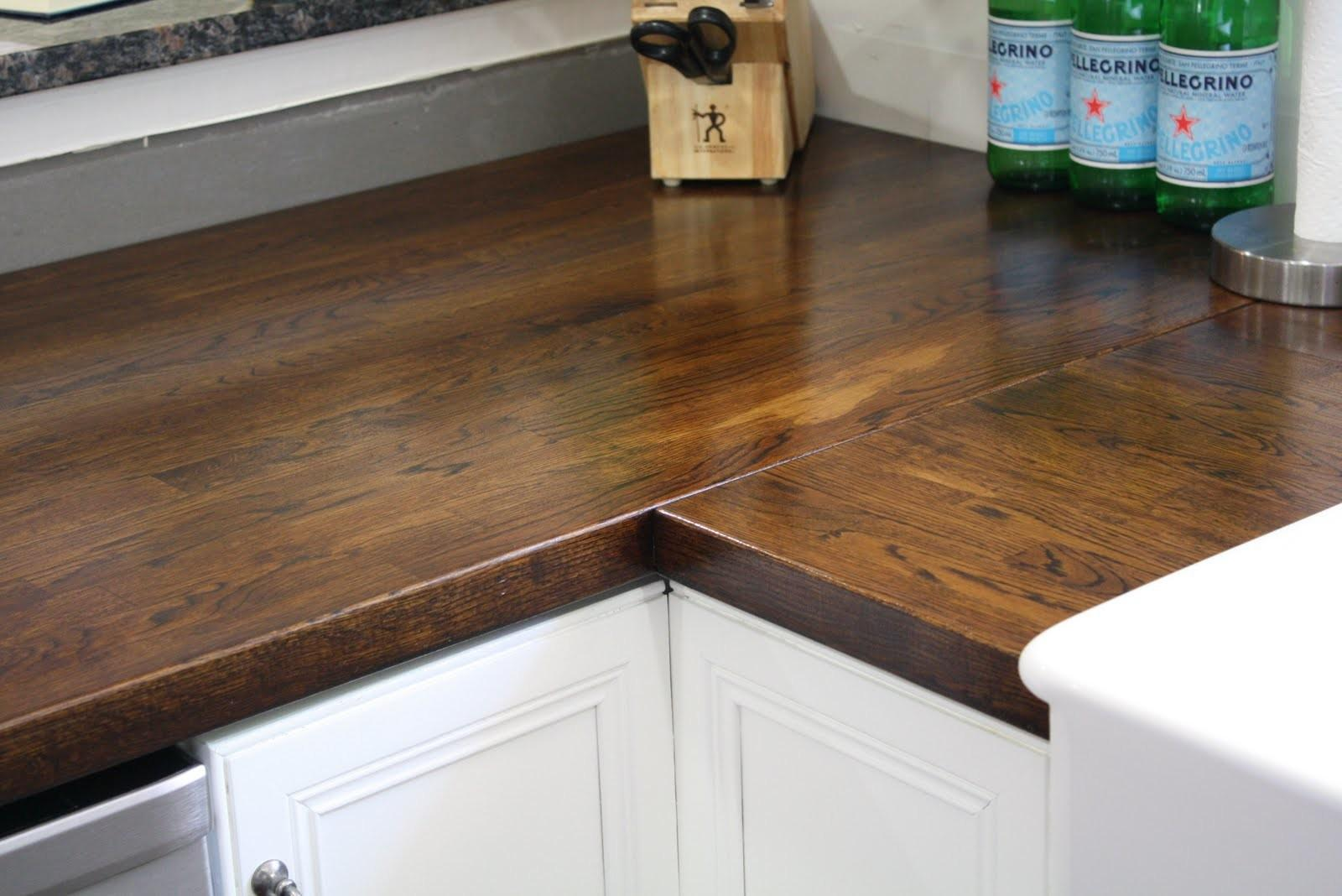 Stillwater Story Stain Butcher Block Countertops