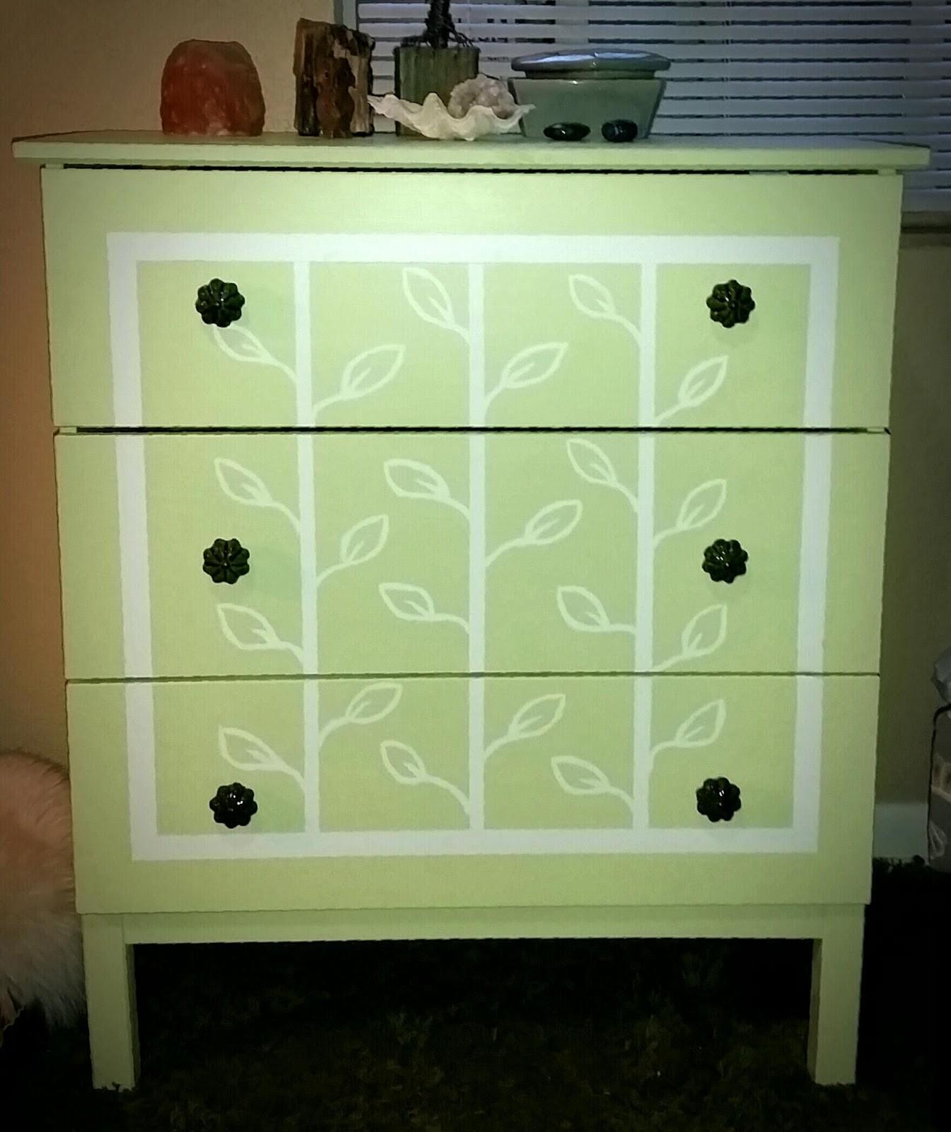 Stitch Fetish Tarva Hack Diy Hand Painted Dresser