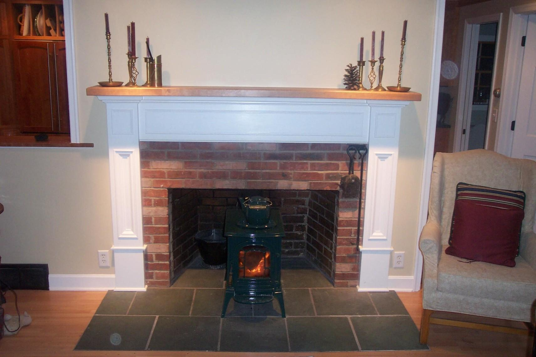 Stone Fireplace Mantels Surrounds American Pacific Cottage