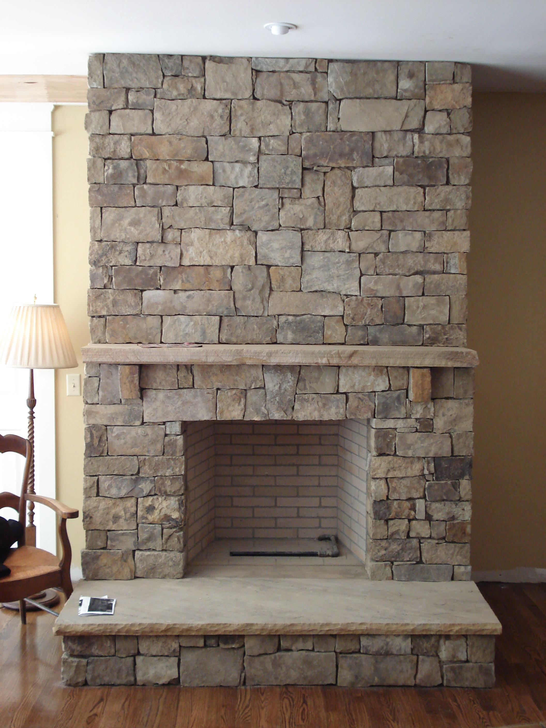 Stone Fireplaces Natural
