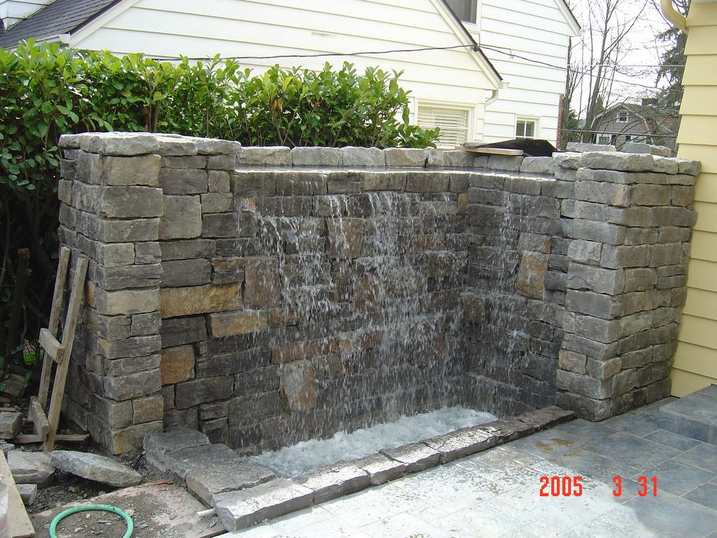 Stone Water Feature Waterfeature Constructed