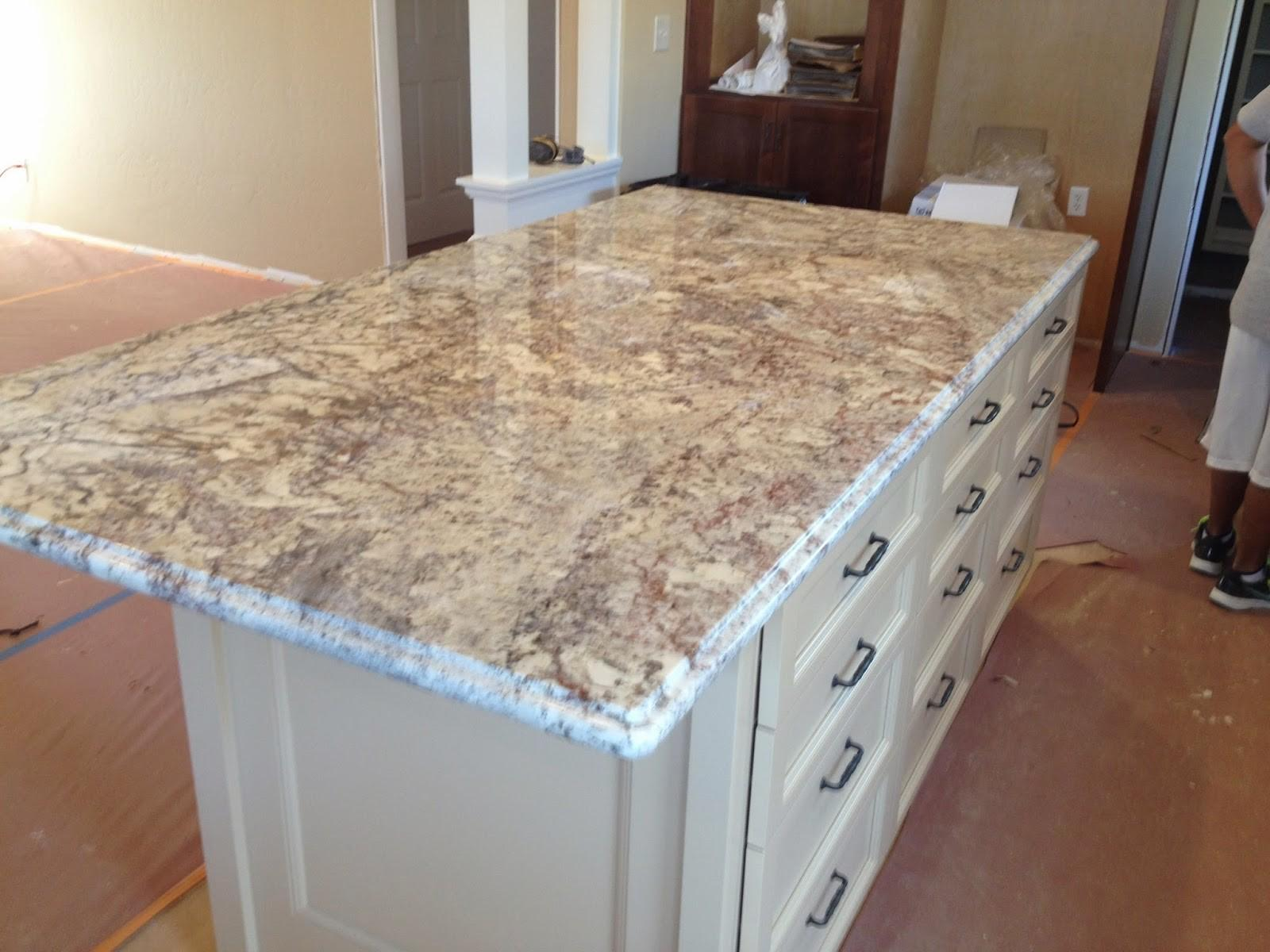 Stonemark Granite Countertop Sample White Springs
