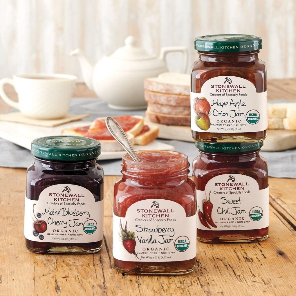 Stonewall Kitchen Introduces Organic Products Gourmet