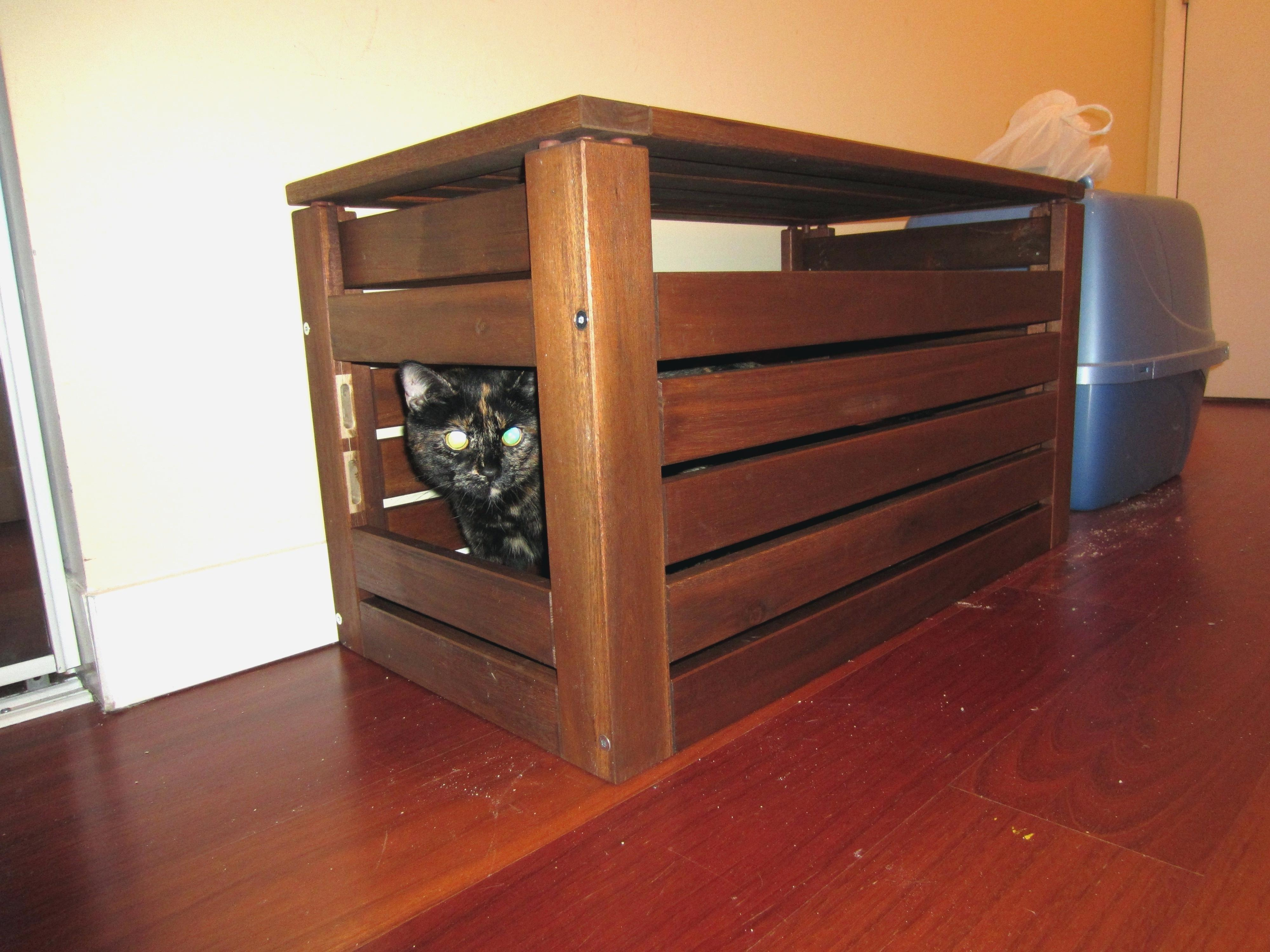 Storage Bench Litter Box Benches