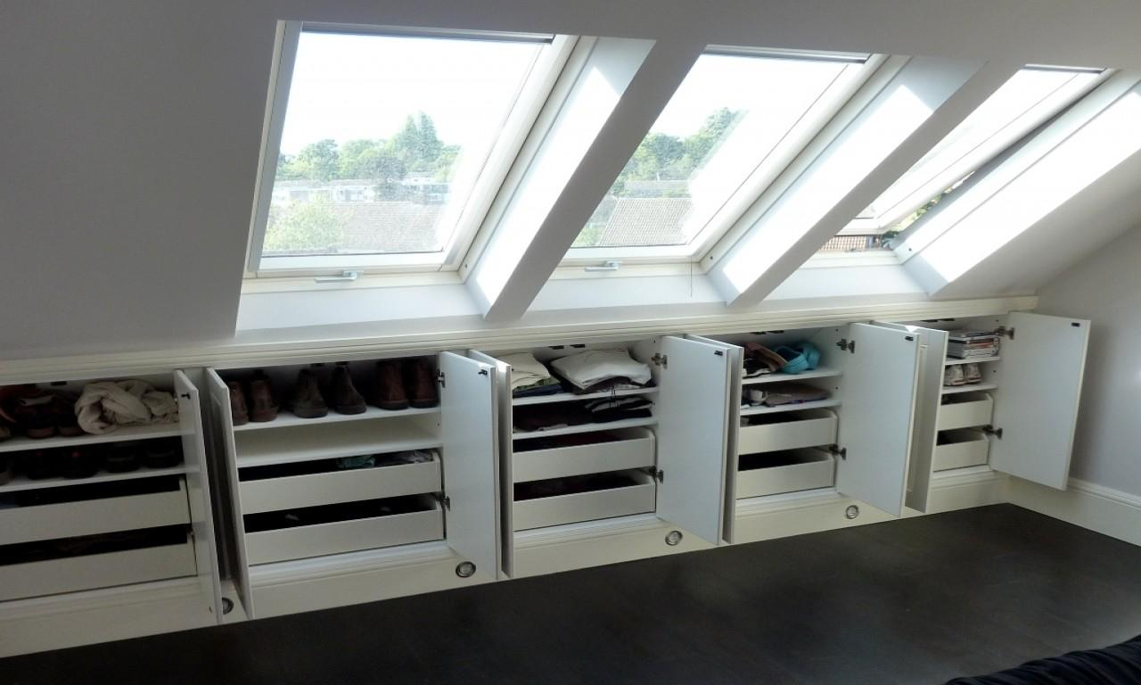 Storage Solutions Small Bedroom Unfinished Attic