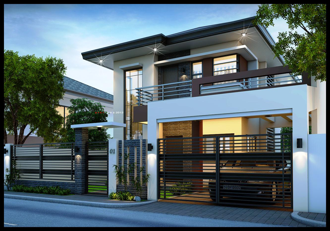 Storey Contemporary House