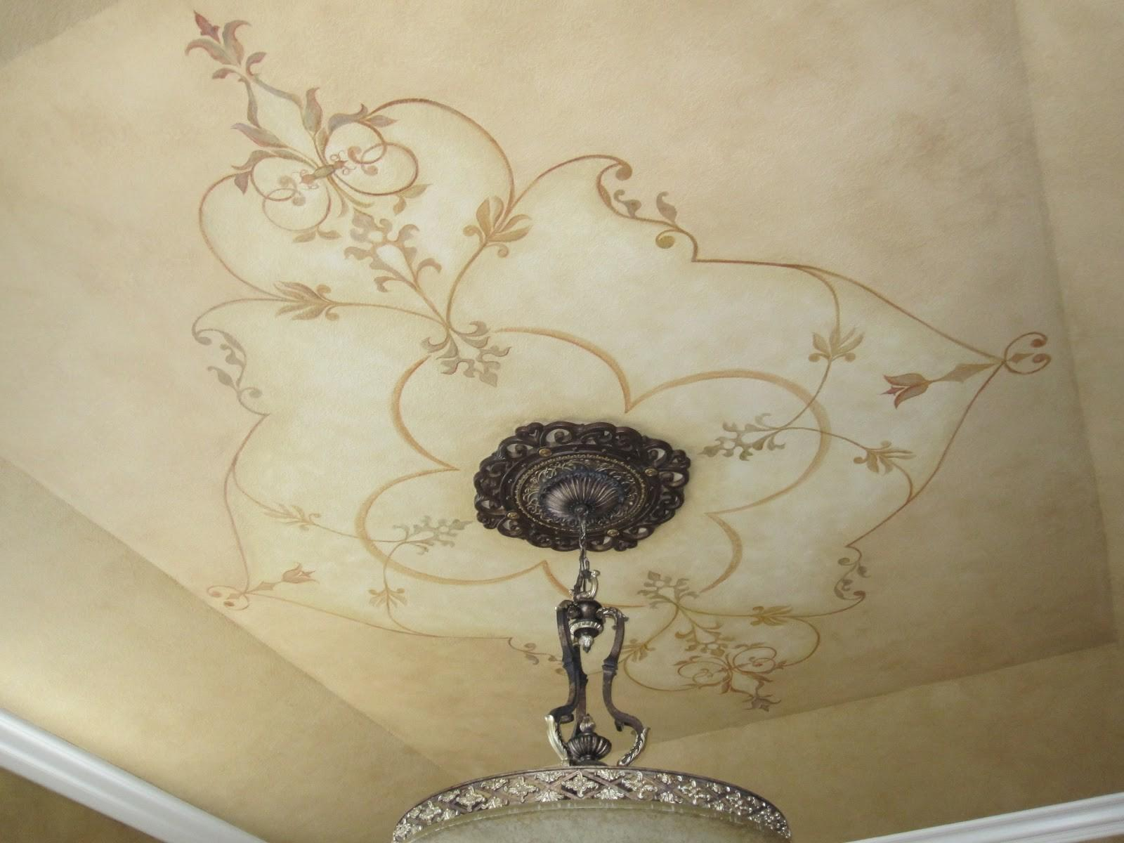 Stormer Decorative Finishes Ceiling Mural