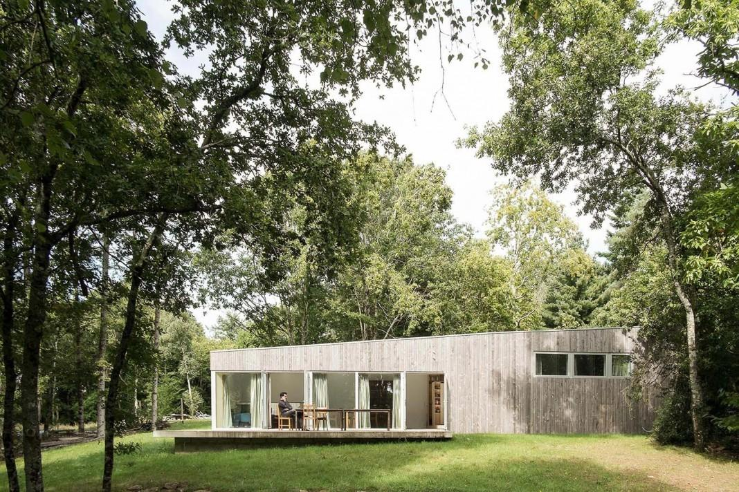 Story Small Simple Wood House Atelier Mima