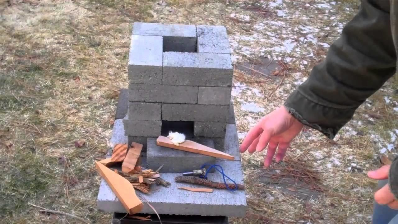 Stoves Build Rocket Stove