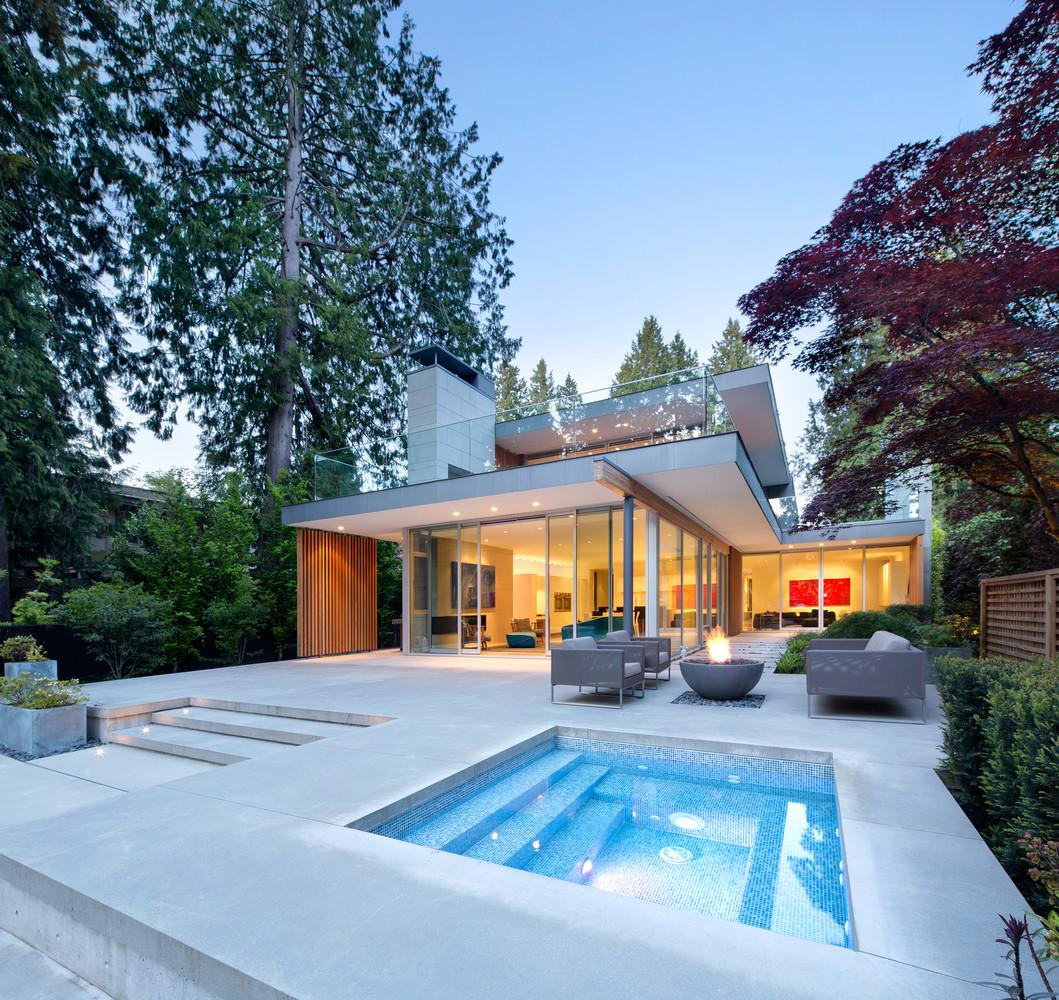 Striking Modern Home Ode Right Angles Curbed