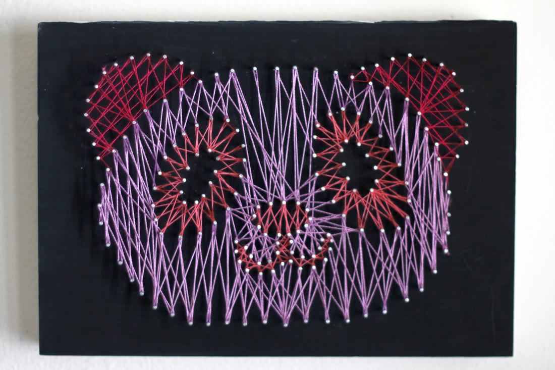 String Art Carly Martin Original