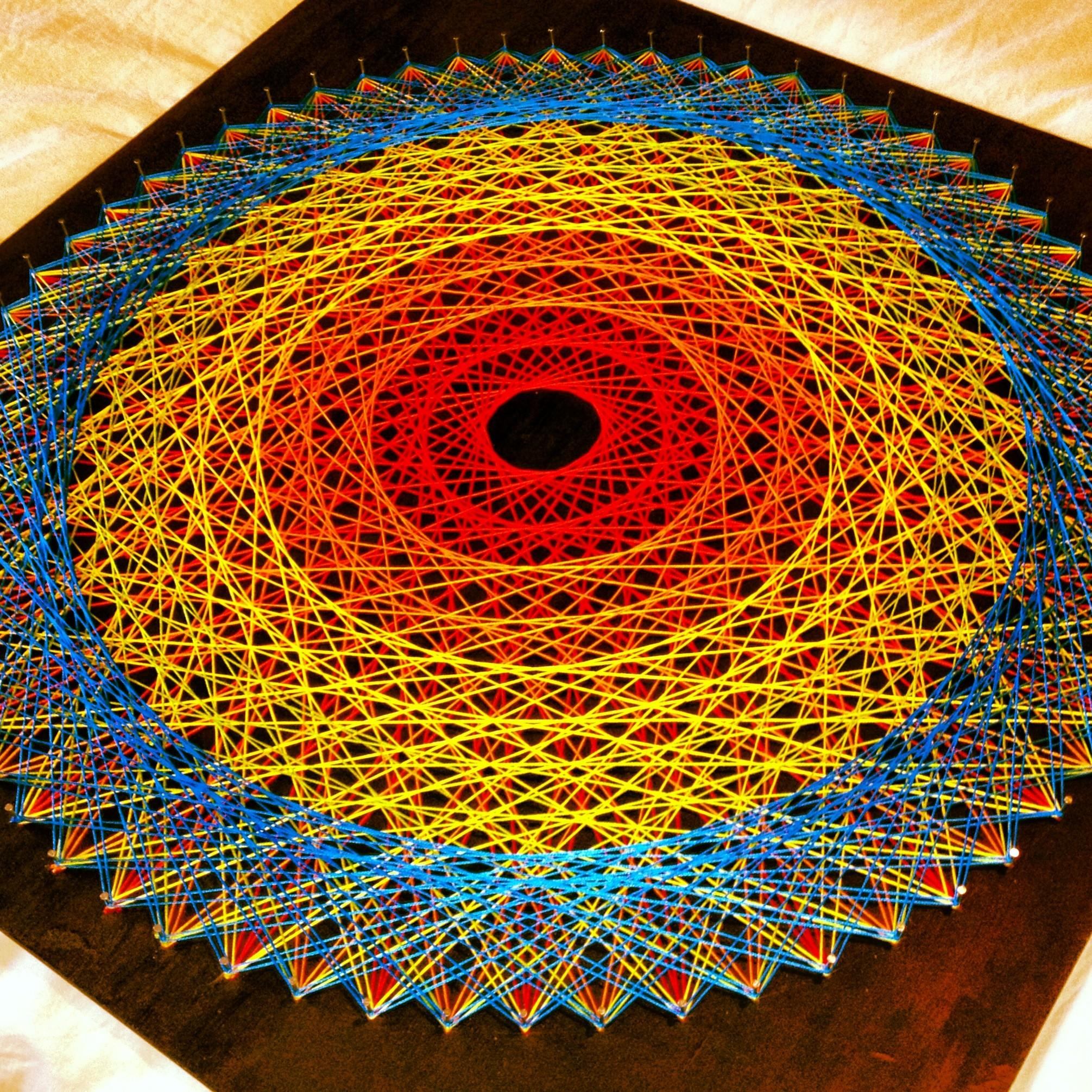 String Art Great Rucksack Revolution