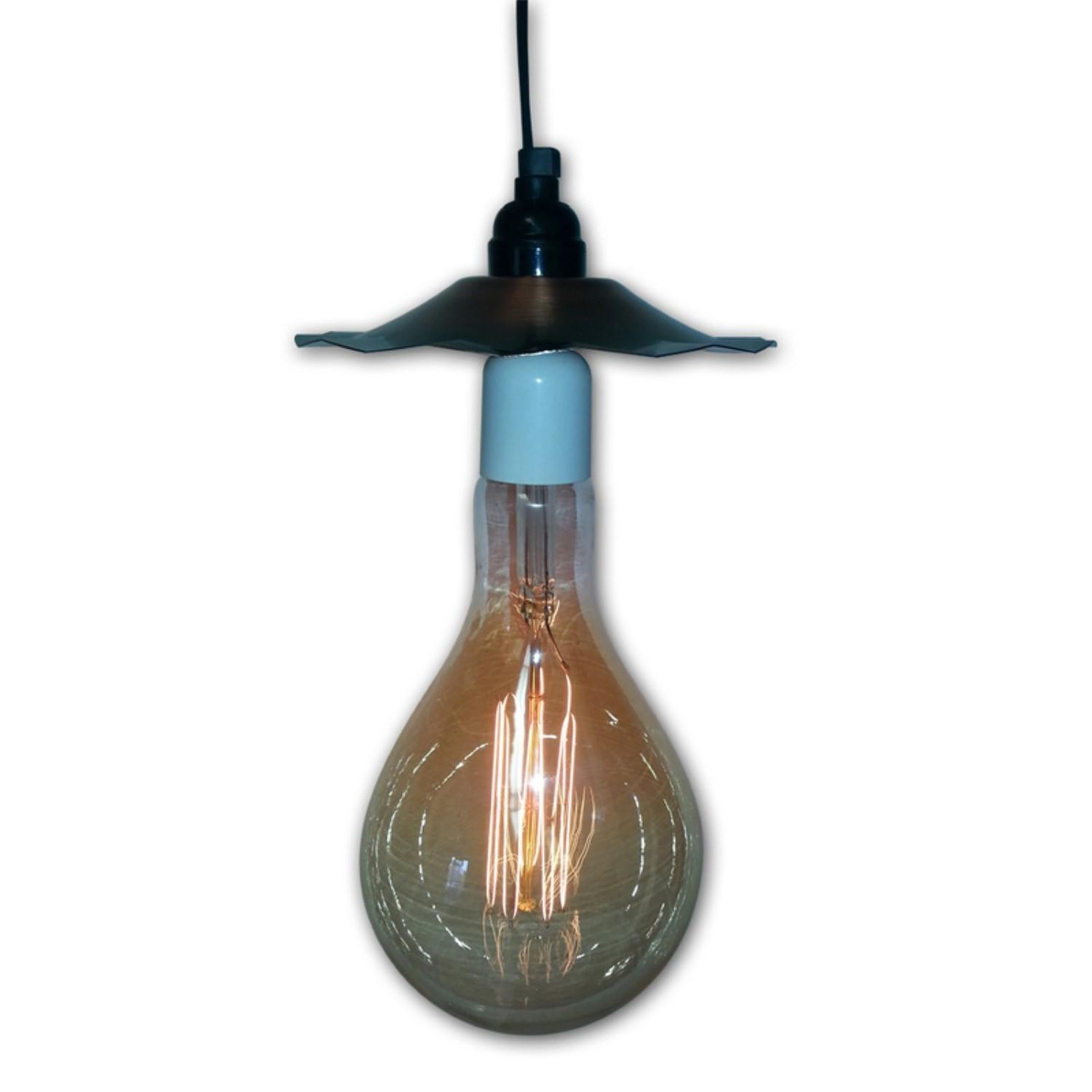 String Light Company Vintage Outdoor Pendant Jet