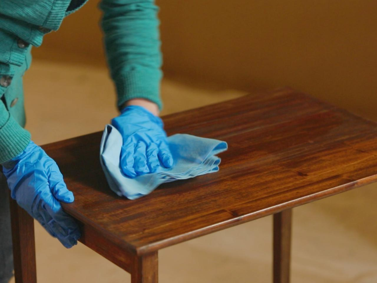 Strip Sand Stain Wood Furniture Tos Diy