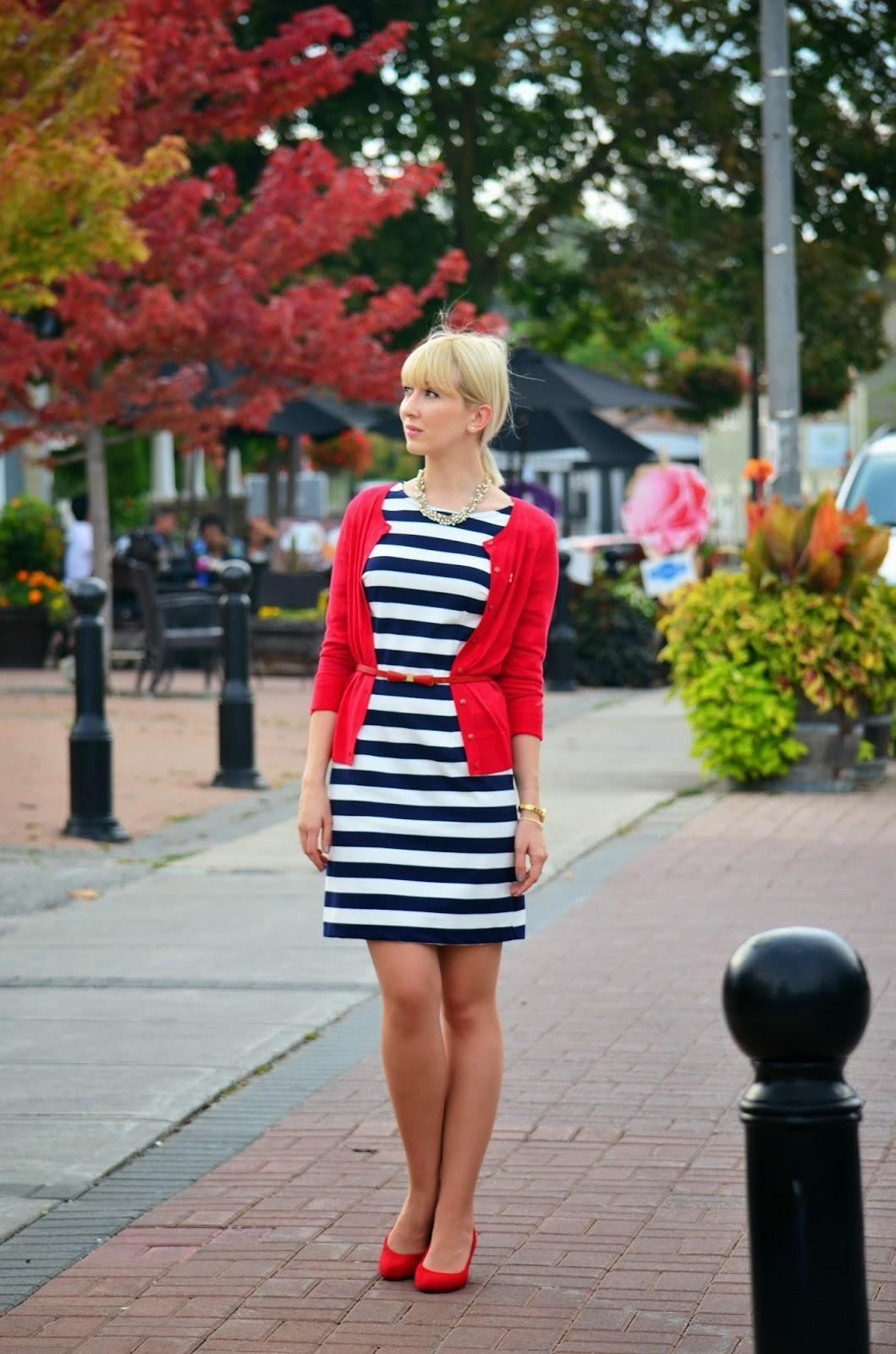 Striped Dress Summer Fall Transition Stripes Vibes