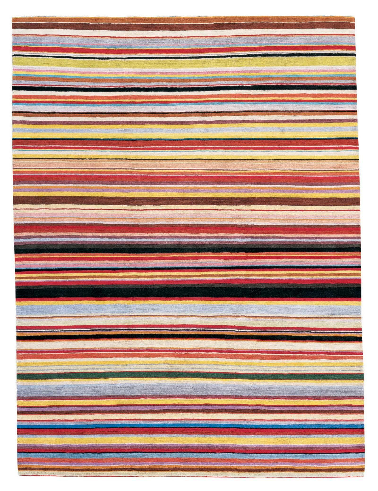 Striped Rug Adds Your Home Serene Beauty Furniture