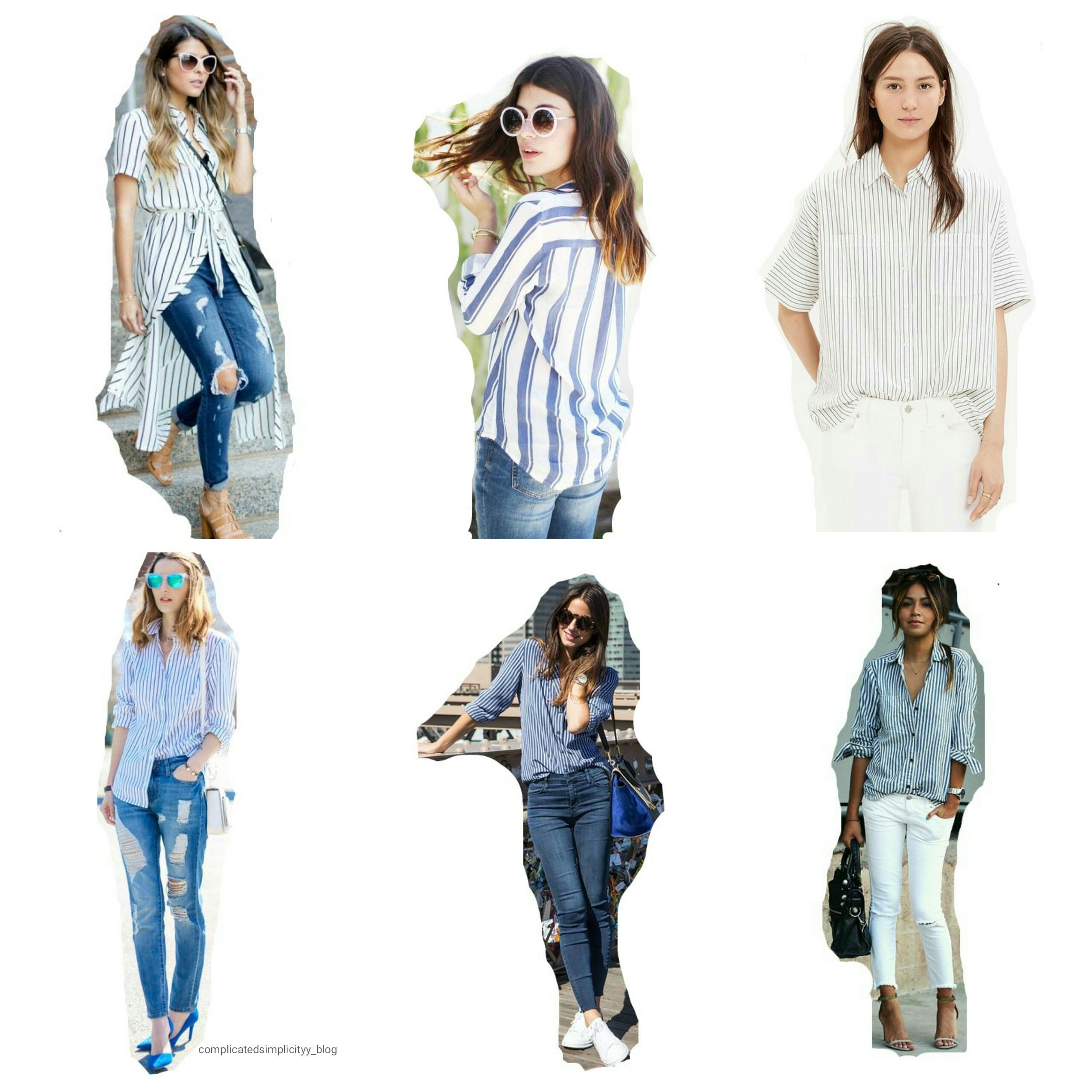 Striped Shirt Must Have Spring Summer 2016