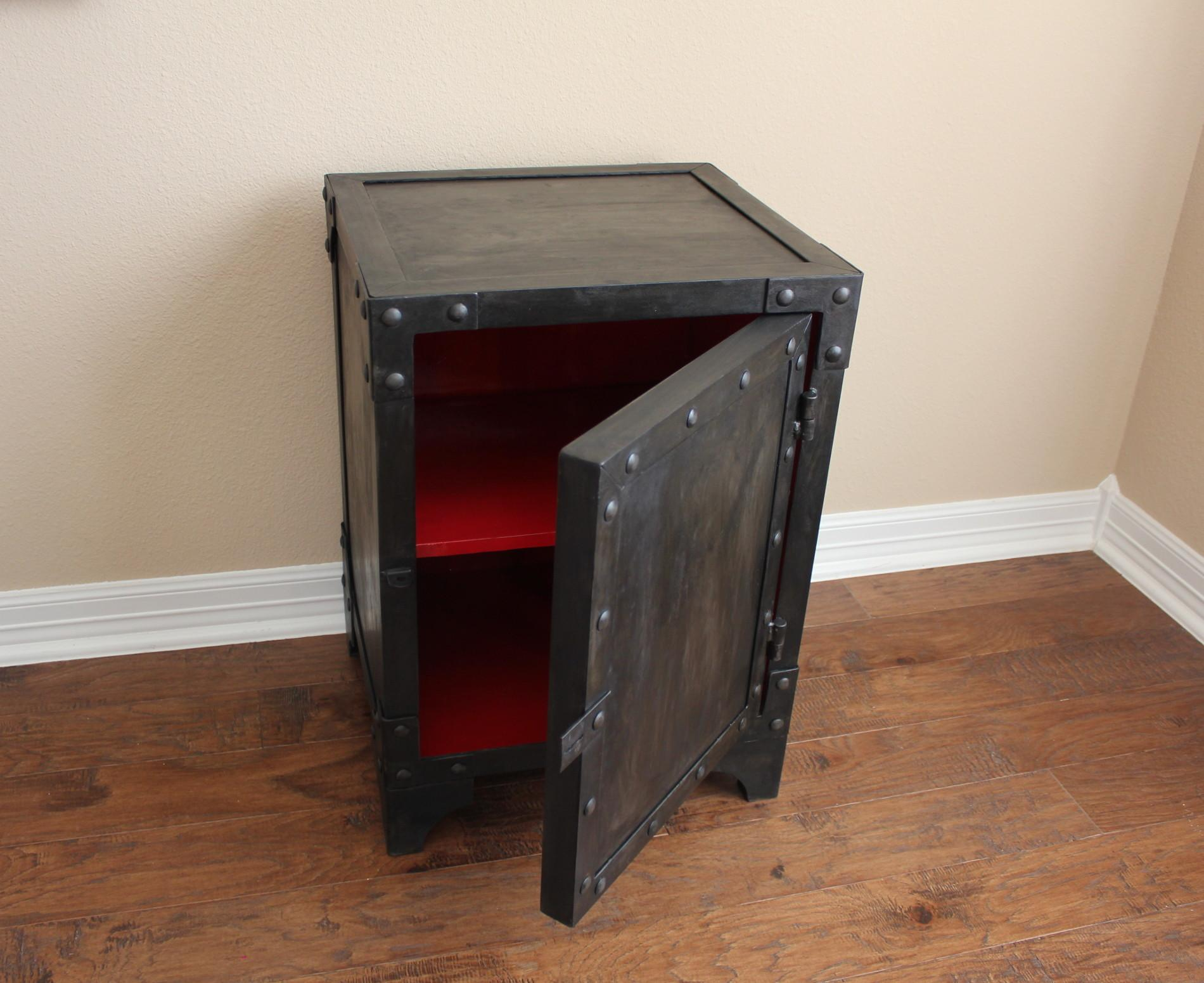 Strongbox Cabinet Modern Industrial Furniture