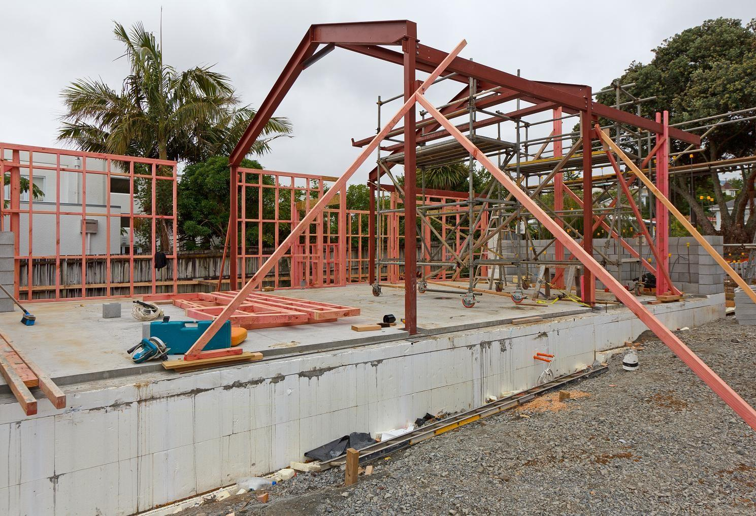 Structural Steel Work New Zealand First Passive House