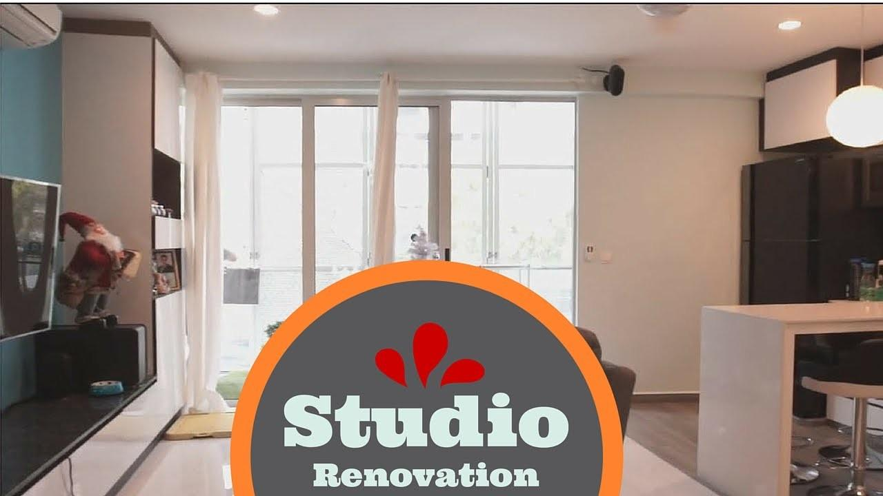 Studio Apartment Renovation Before After